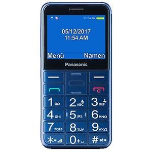 Panasonic KX-TU150 Easy Use Mobile Phone, Blue Mobilais Telefons