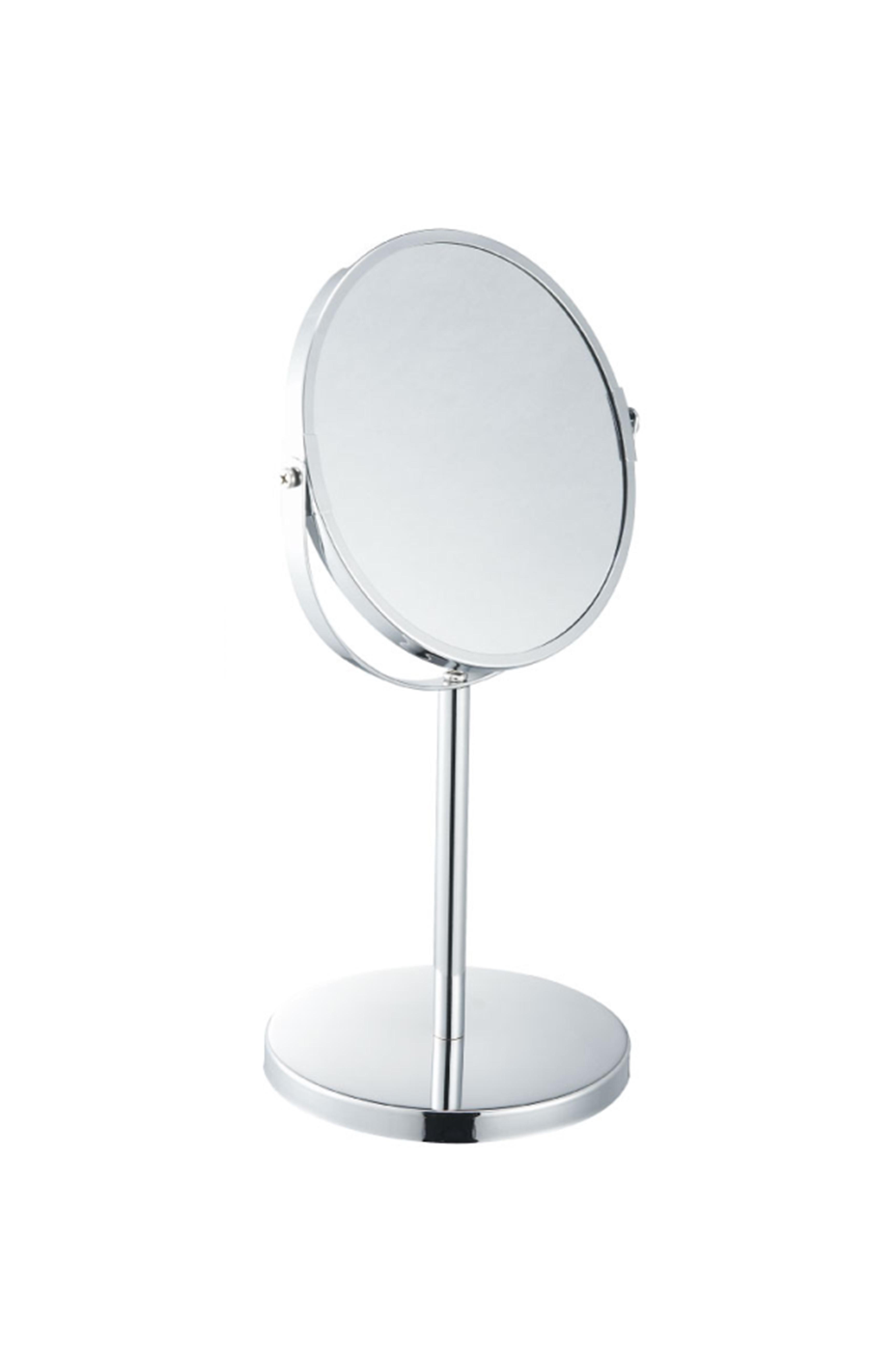 BESK Spogulis galda diam.17cm Vannas istabas piederumi
