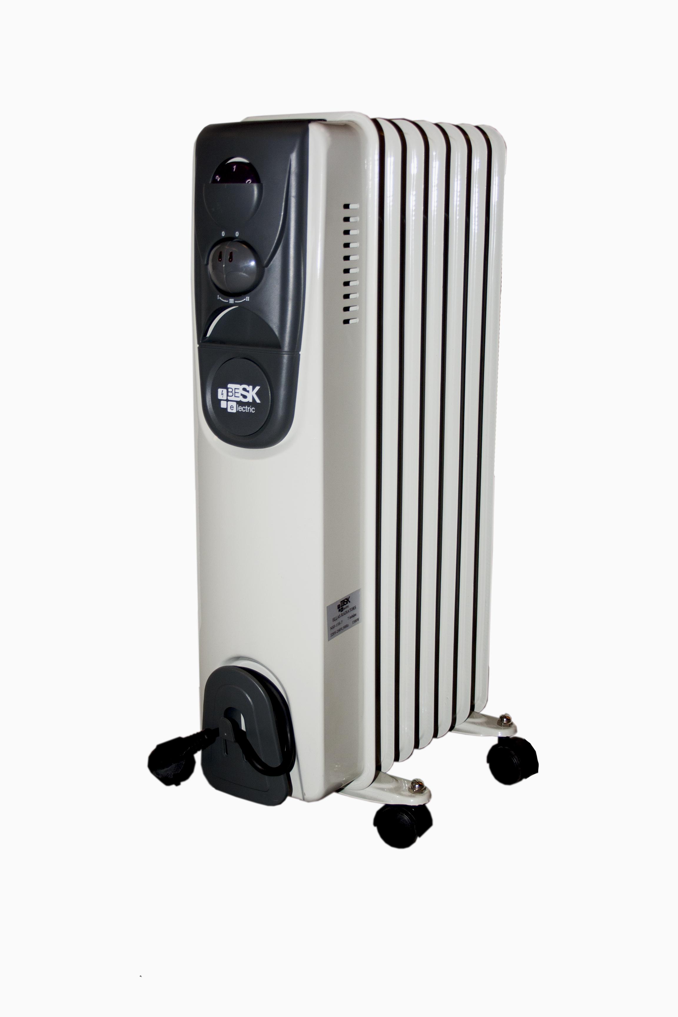 BESK Ellas radiators 7 sekcijas 1500W