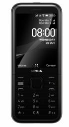 Nokia 8000 4G Black Mobilais Telefons