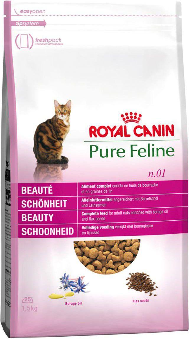 Royal Canin Pure Feline N1 Beauty 33 1,5kg kaķu barība