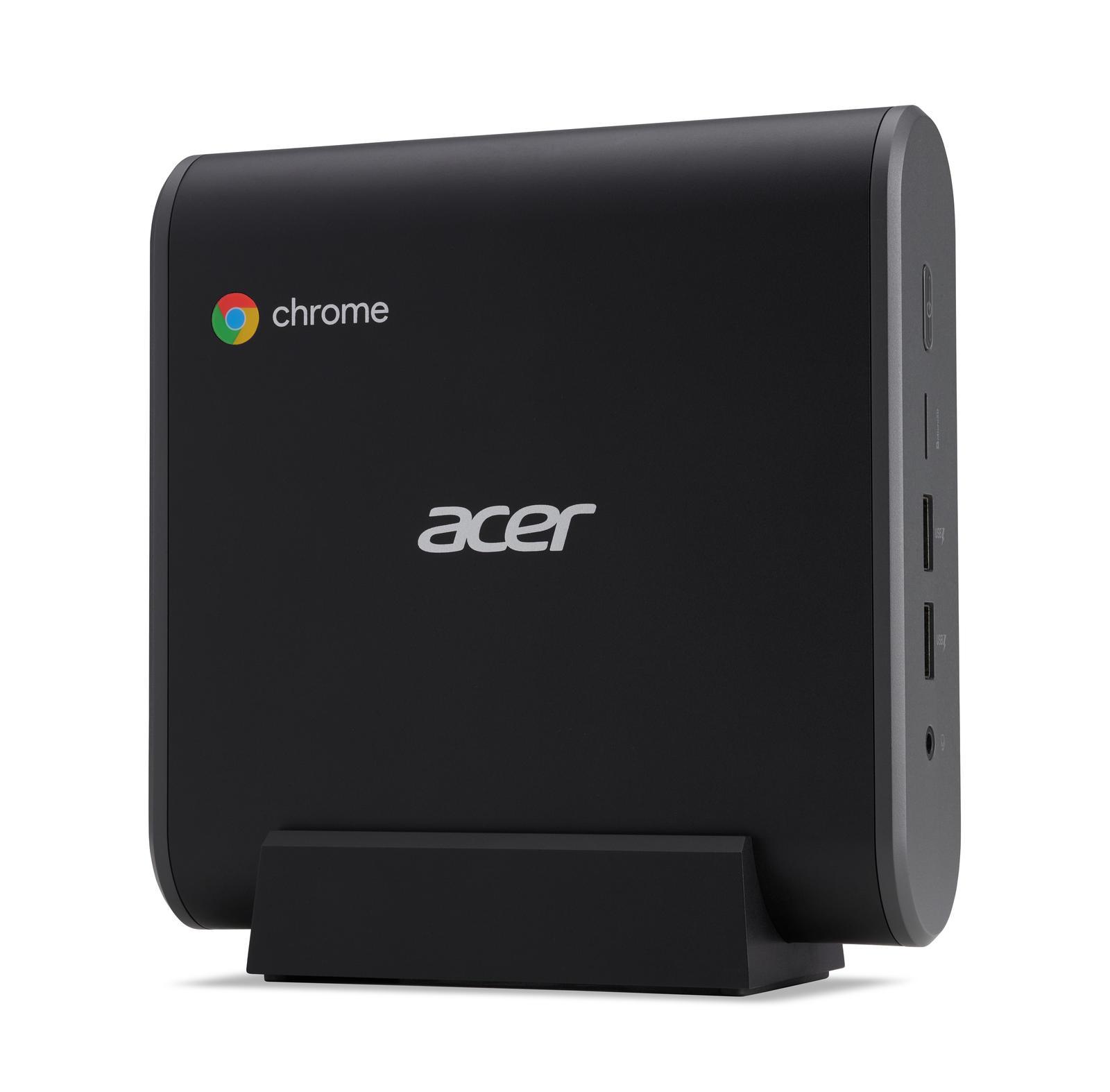 Acer Chromebox CXI3 Mini-PC Intel Core i3-8130U, 8GB RAM, 64GB SSD, Intel HD620 Grafik, Google Chrome OS dators