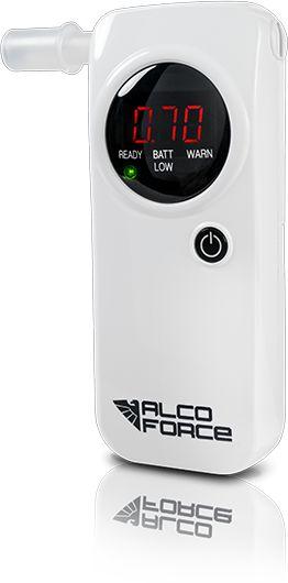 Alkomat AlcoForce EVO-1 bialy Alkometrs