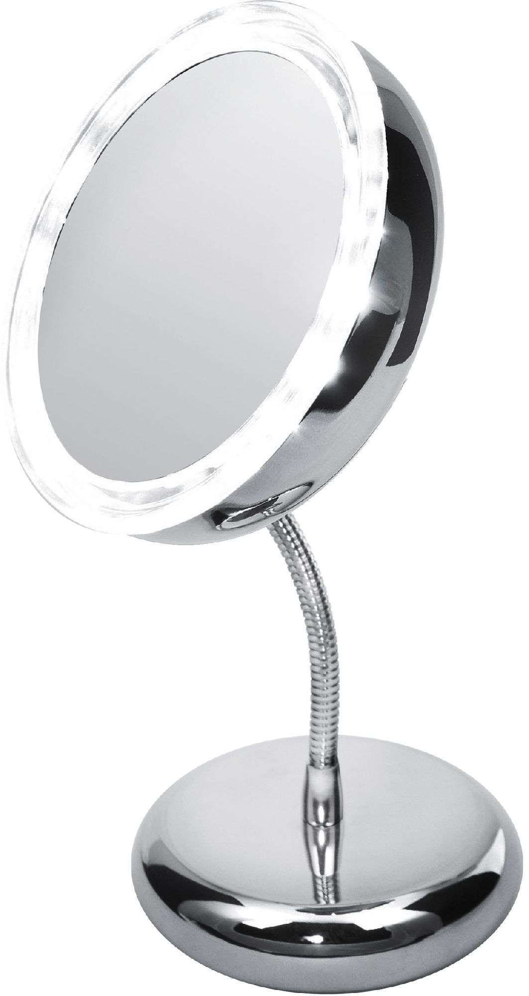 Adler Mirror, AD 2159, 15 cm, LED mirror, Chrome Spogulis