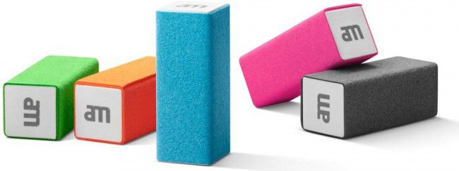 AM Lab Minis 5 microfib er screen cleaning bloc tīrīšanas līdzeklis