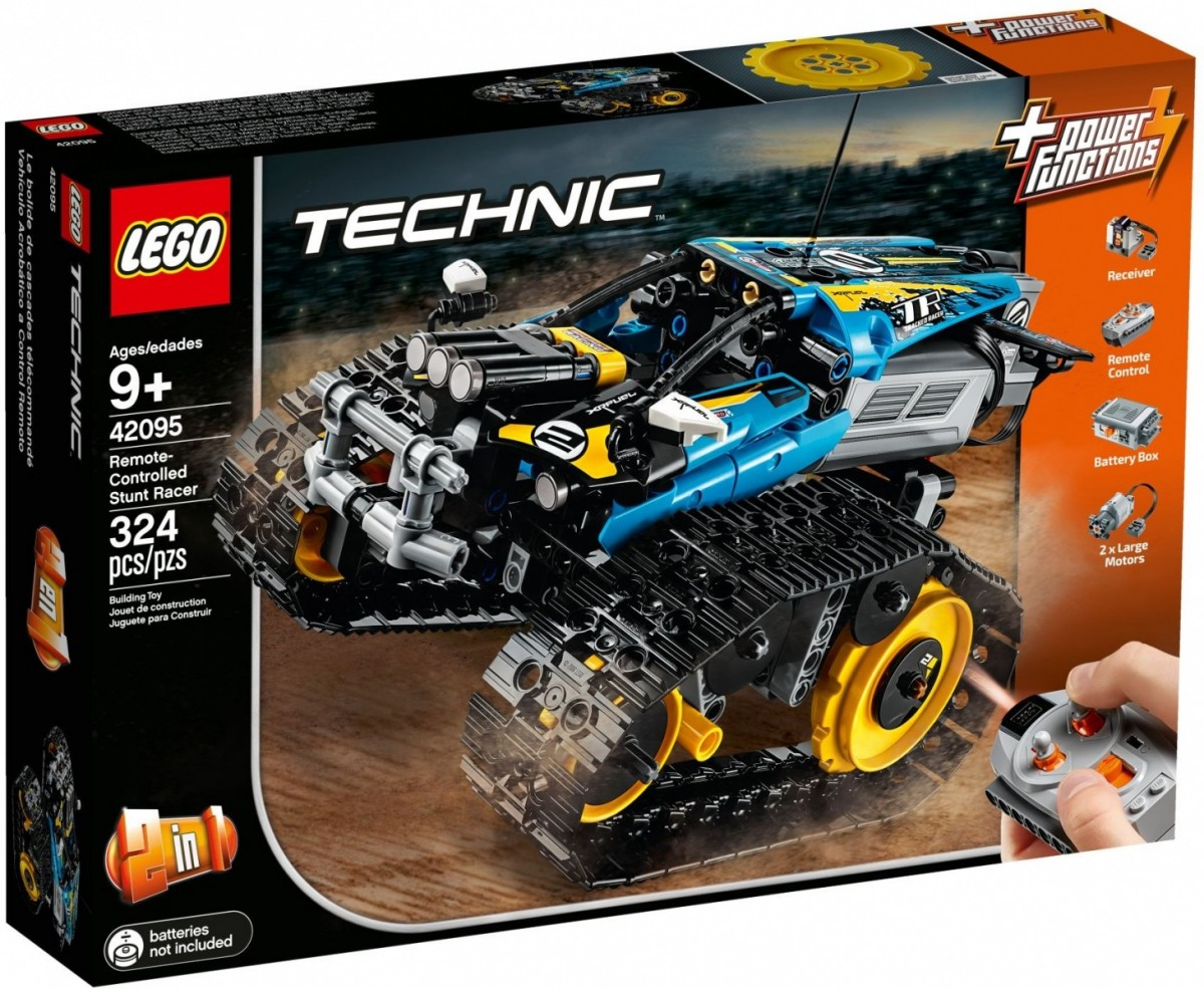 LEGO Technic 42095 Remote Controlled Stunt Racer LEGO konstruktors