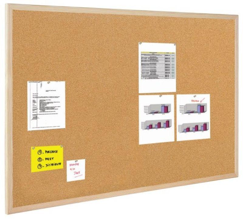 Bi-Office Tablica korkowa (GMC040012010) GMC040012010