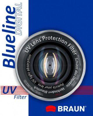 BRAUN Optical filter     Blueline UV 72mm foto, video aksesuāri