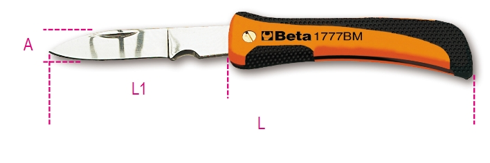 BETA 190mm folding knife (017770100)
