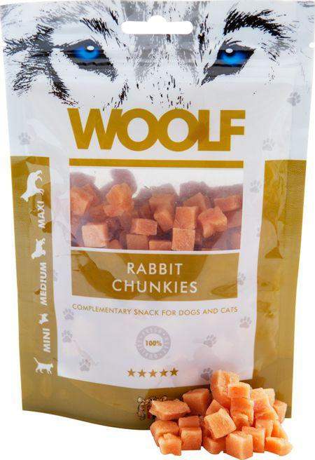 Brit WOOLF 100g RABBIT CHUNKIES VAT006650