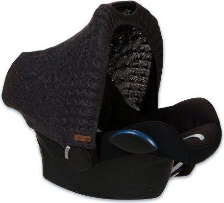 Babys Only Daszek wymienny na fotelik samochodowy 0+, ciemny szary (BSO0465624) BSO0465624 Bērnu sēdeklīšu aksesuāri