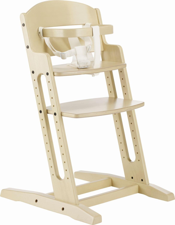 Baby Dan Krzeselko do karmienia DANCHAIR bielone 5705548029791 bērnu barošanas krēsls