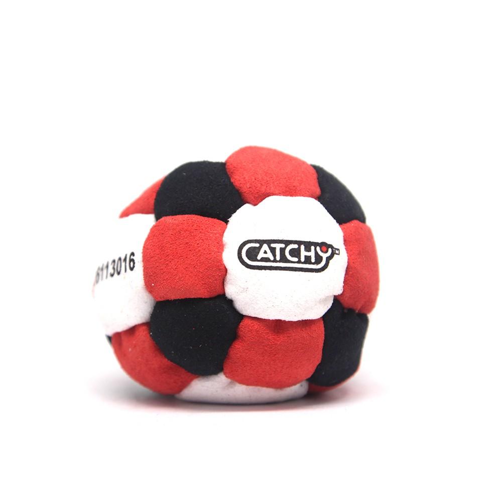 YoYoFactory CATCHY FOOTBAG rotaļlieta - kāju bumba, melns/sarkans YO 387