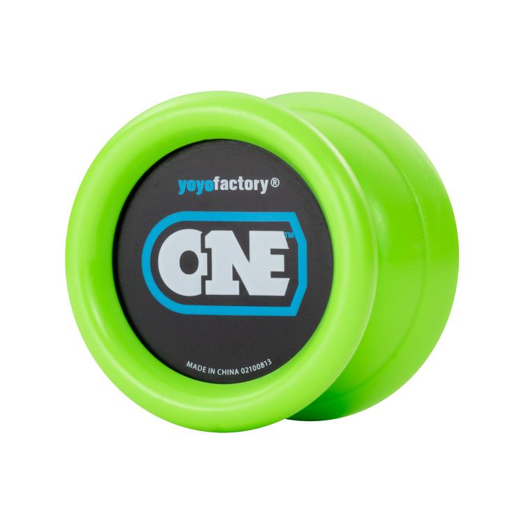 YoYoFactory YO-YO ONE rotaļlieta iesācējiem, zaļš YO 003