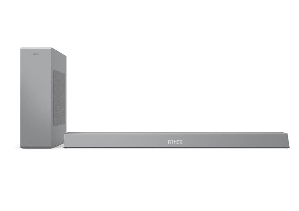 PHILIPS Soundbar 2.1 ar bezvadu basu skaļruni TAB8505/10 mājas kinozāle