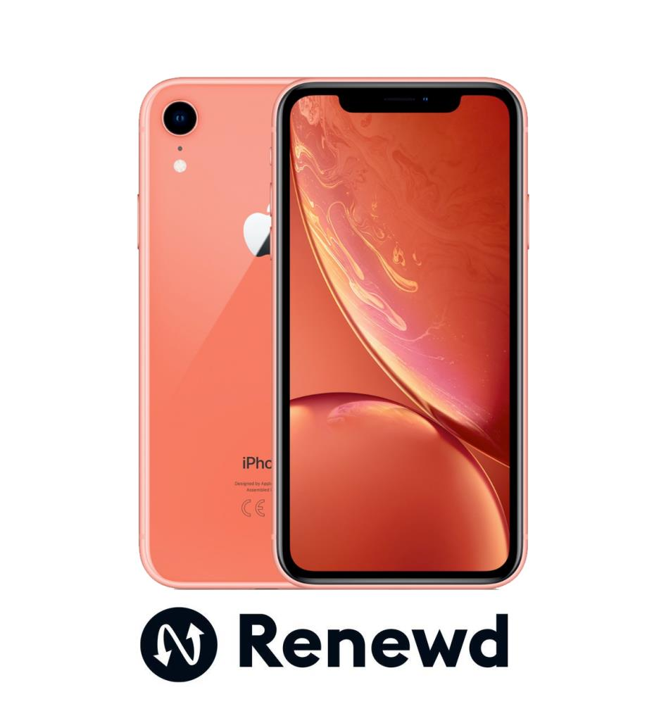 MOBILE PHONE IPHONE XR 64GB/CORAL RND-P11464 APPLE RENEWD RND-P11464 Mobilais Telefons