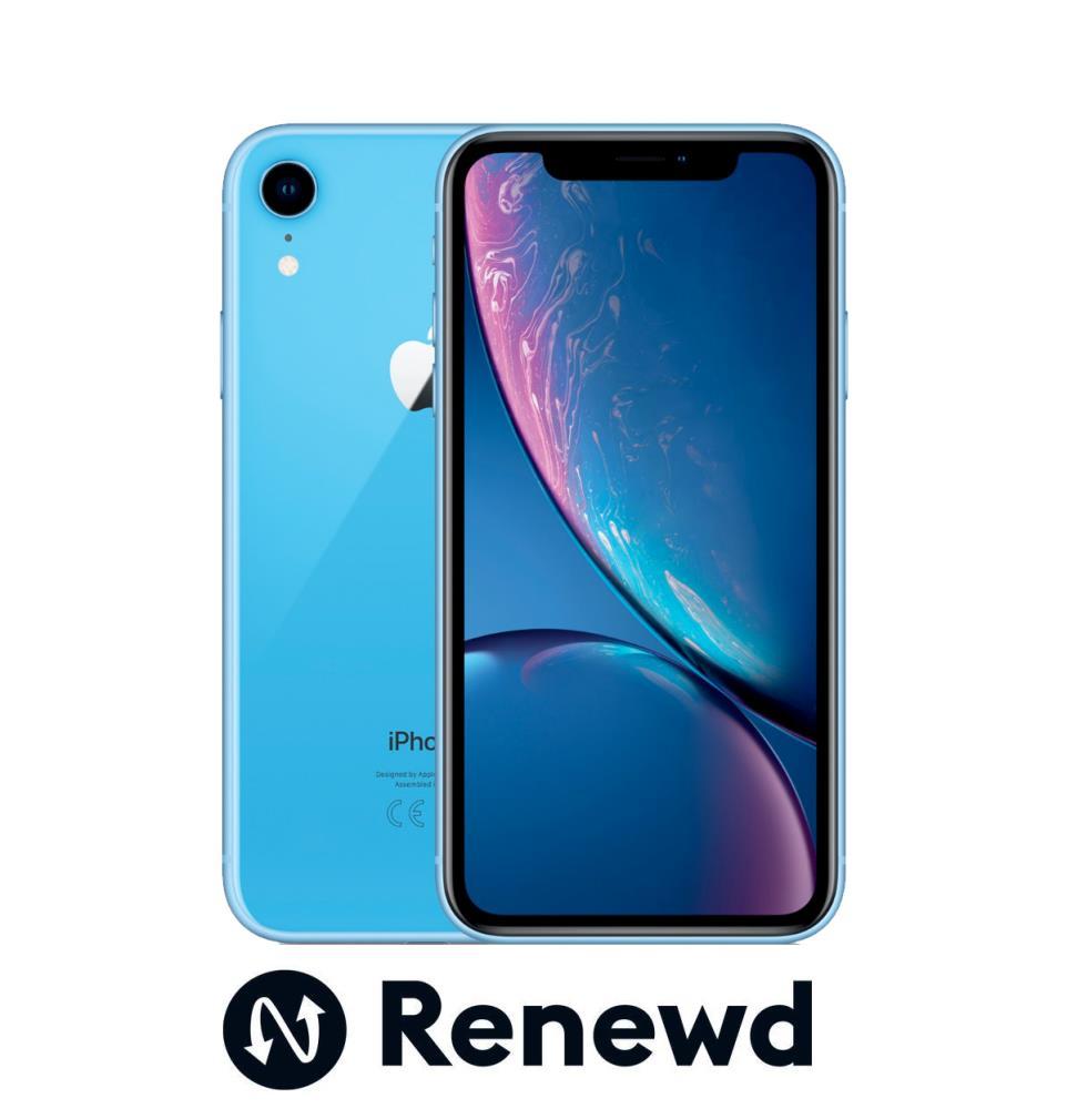MOBILE PHONE IPHONE XR 64GB/BLUE RND-P11764 APPLE RENEWD RND-P11764 Mobilais Telefons