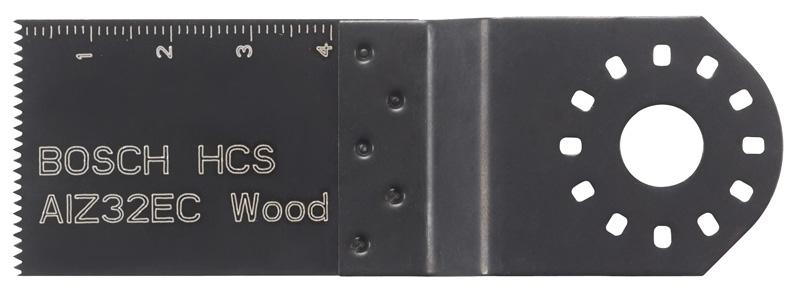 Bosch HCS plunge saw blade, wood AIZ 32 EC 32 x 40mm (2608661637)