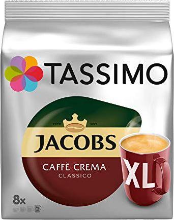 Tassimo Jacobs Caffe Crema XL T-Disc 8711000500033 piederumi kafijas automātiem