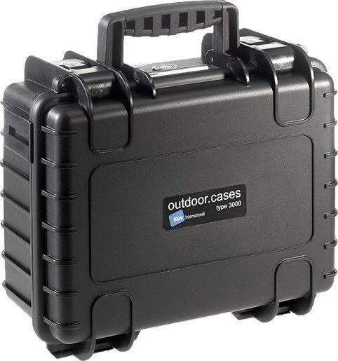B&W Copter Case Type 3000 B black with DJI Mavic 2 Inlay Droni un rezerves daļas