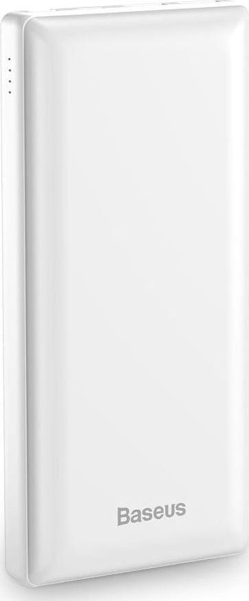 Baseus Mini JA Portatīva Baterija Ierīču Uzlādei 30000 mAh Balta PPJAN-C02 Powerbank, mobilā uzlādes iekārta