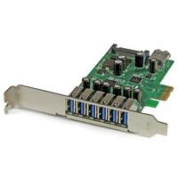 StarTech.com 7 Port PCI Express USB 3.0 Karte (PEXUSB3S7) tīkla karte