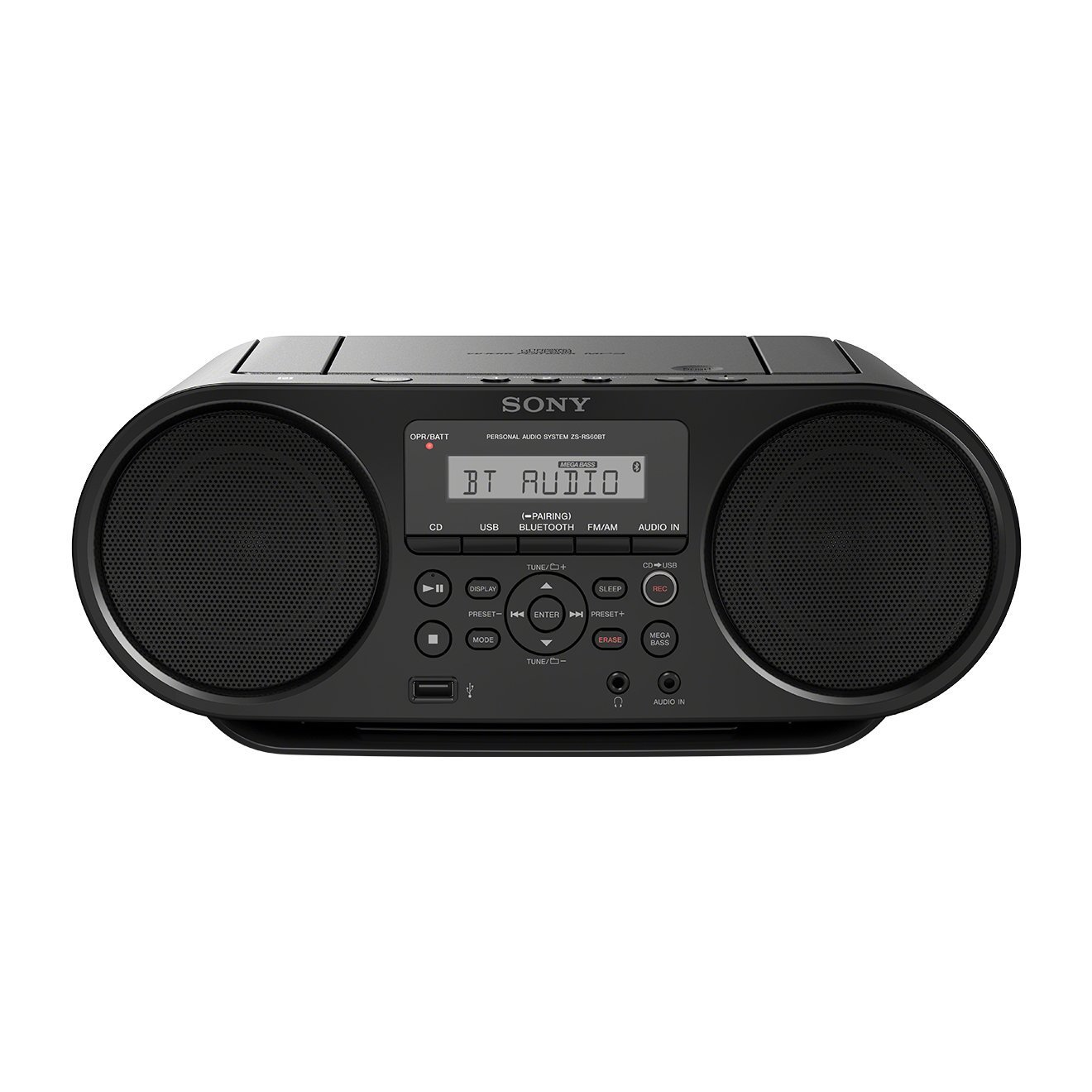 Sony ZS-RS60BT radio, radiopulksteņi