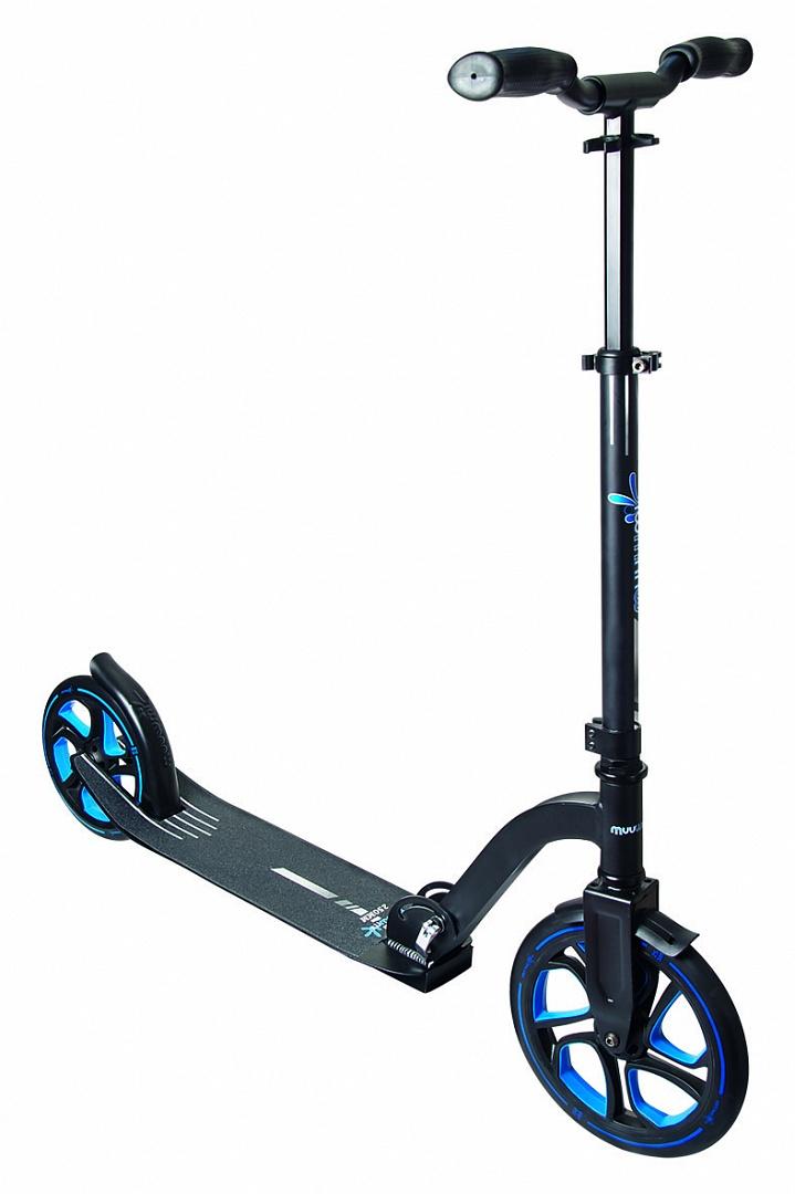 Muuwmi Aluminium Scooter PRO skrejritenis 250 mm, zils AU 468 Skrejriteņi