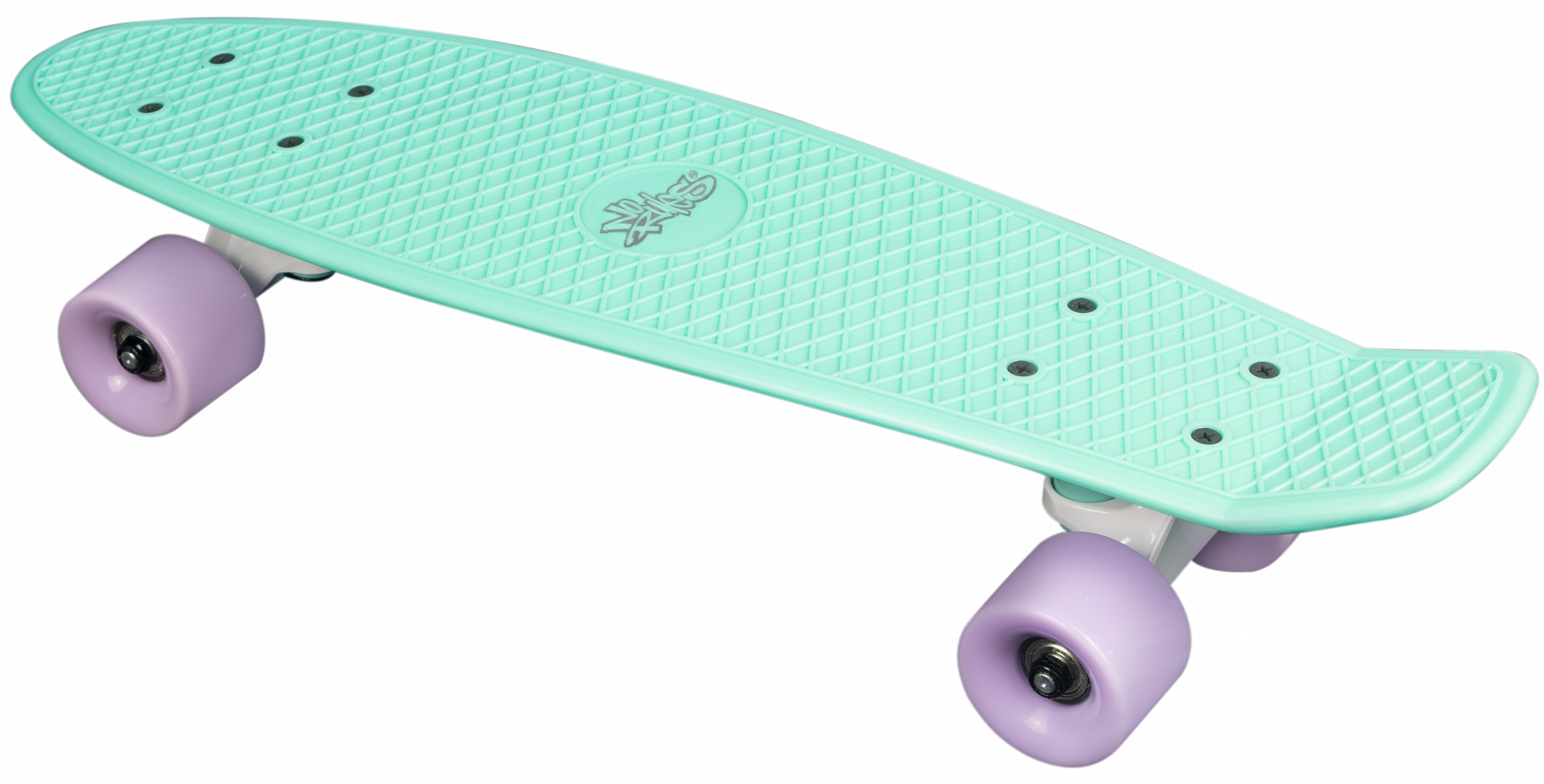 No Rules Skateboard fun skrituļdēlis MINT-PURBLE AU 354