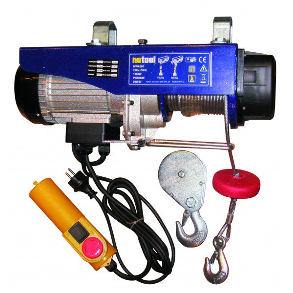 Nutool Electric winch 800kg 1250W (MWA800)