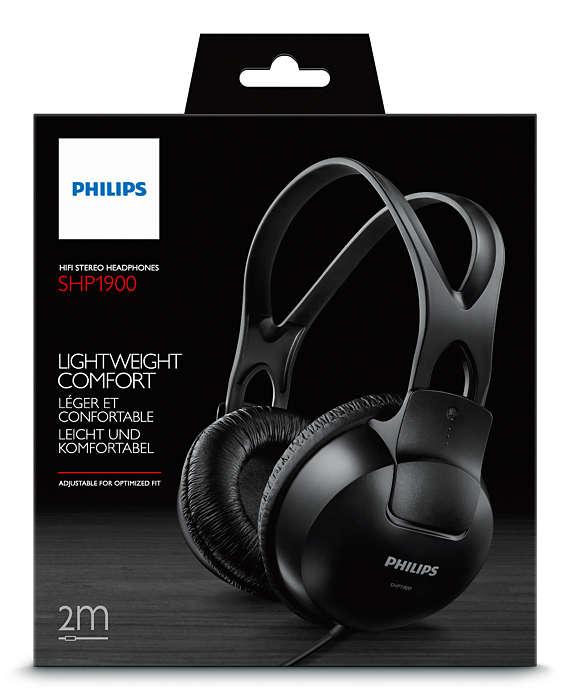 Philips SHP1900 Black austiņas