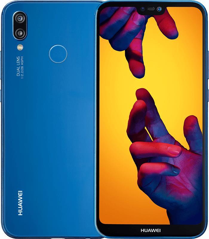 Huawei P20 lite Dual SIM, Klein Blue Mobilais Telefons