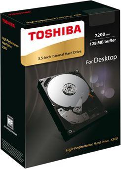 Toshiba X300 HDD 3.5 5TB, SATA 6Gbit/s cietais disks