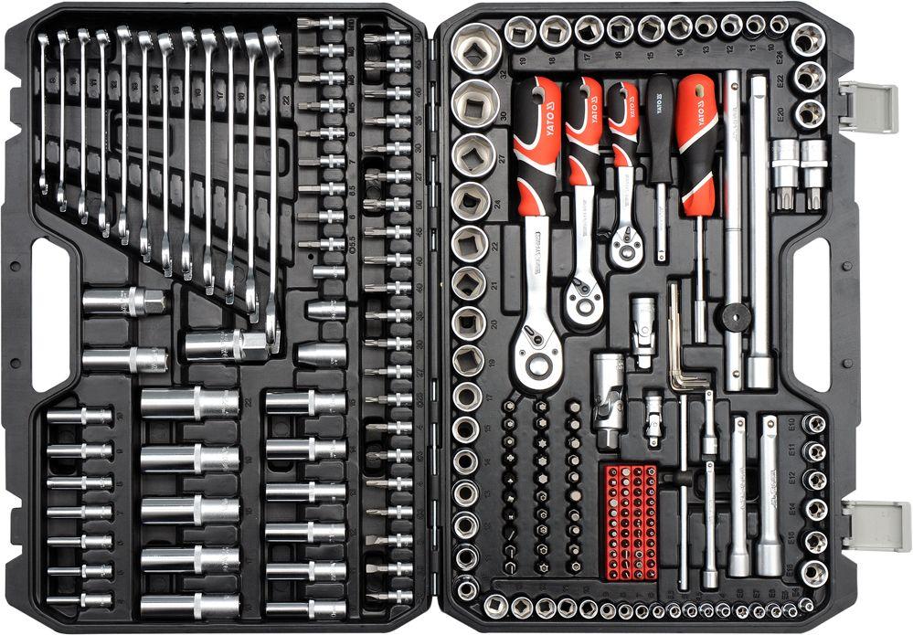 Yato instrumentu komplekts 216 pcs. (YT-38841)