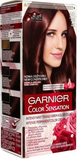 Garnier Color Sensation Krem koloryzujacy do wlosow 5.51 Ciemny Rubin 0358649