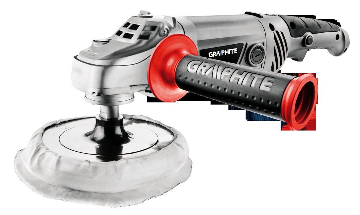 Graphite Polerka 1300W tarcza 180mm 1000-3000obr/min (59G243) 59G243 Pulēšanas iekārtas