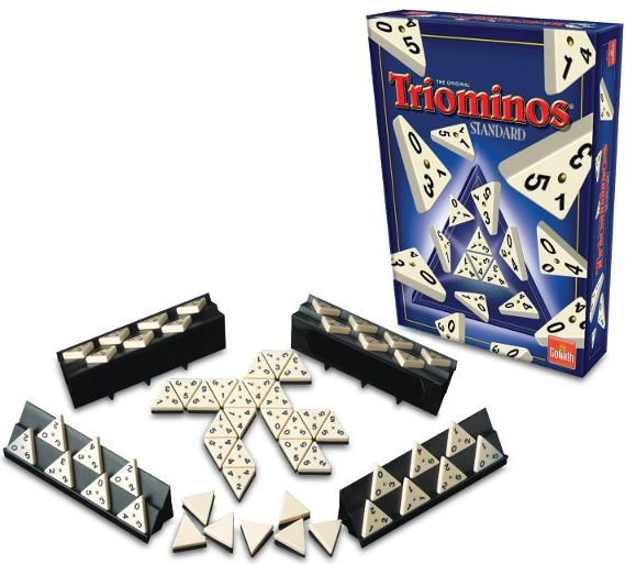 Triominos Standard puzle, puzzle