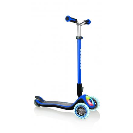 GLOBBER Scooter Elite Prime Flashing Blue 444-800 4897070184558