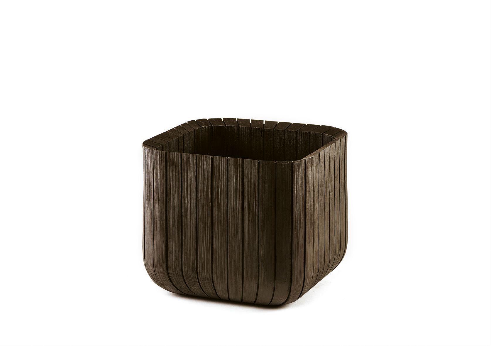 Puku pods Cube Planter L bruns