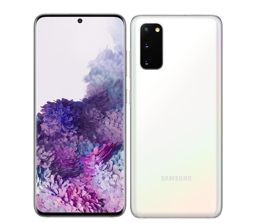 Samsung Galaxy S20 8GB/128GB Cloud White Mobilais Telefons