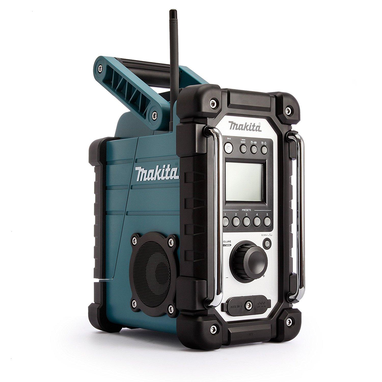 Makita DMR 107 blue Job Site Radio radio, radiopulksteņi