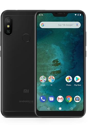 Xiaomi Mi A2 LITE 3GB/32GB black (Atjaunots, garantija 3 mēneši) Mobilais Telefons