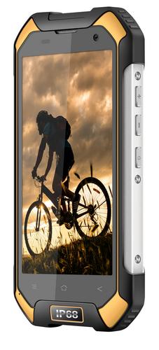Blackview BV6000s 2/16GB Sunshine Yellow (Atjaunots, garantija 3 mēneši) Mobilais Telefons