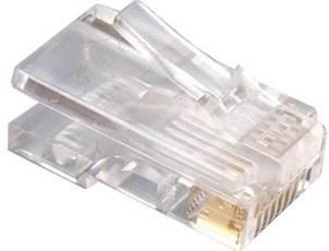 Gembird RJ45 8P8C LAN plug 6u gold plated 100 pcs