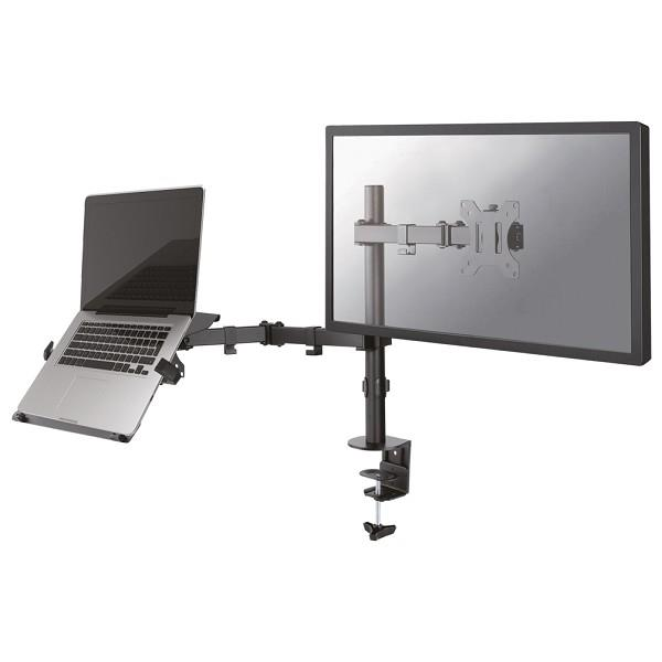 NewStar Desk Mount for PC And Monitor  Height adjustable 10-32 8717371446413