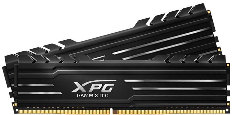 ADATA XPG Gammix D10 DDR4 UDIMM Kit 8GBx2 2666 288pin operatīvā atmiņa