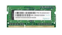 Apacer DDR3 8GB 1600MHz CL11 SODIMM 1.35V operatīvā atmiņa