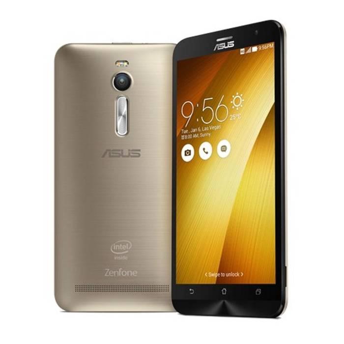 Asus Zenfone 2 ZE551ML Dual 16GB gold USED (grade: B) 9902941026693 T-MLX22722 Mobilais Telefons