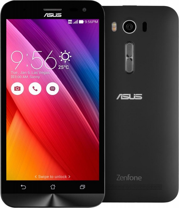 Asus Zenfone 2 Laser ZE500KL Dual 16GB black USED (grade: C) 9902941026686 T-MLX22731 Mobilais Telefons