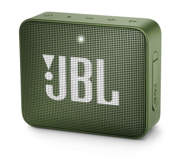 JBL Go 2, compact portable speaker with battery, IPX7 waterproof, Green pārnēsājamais skaļrunis